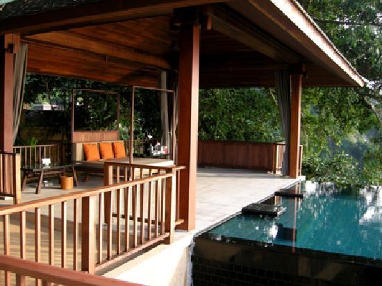Paresa Resort Phuket: Terrasse andere Seite