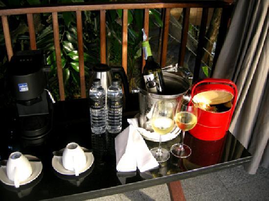 Paresa Resort Phuket: Kaffe & Kuchen