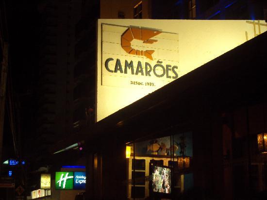 Camaroes Restaurante: cartel exterior