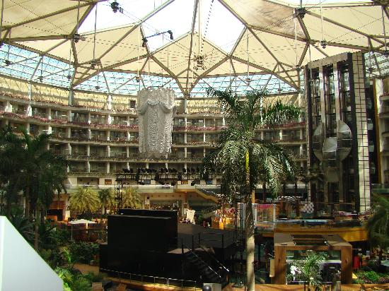 Sahara Star Hotel: Bslcony view