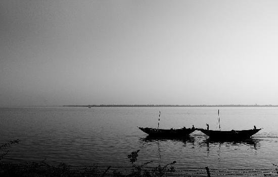 Raichak, India: A View frm Ganga Kutir