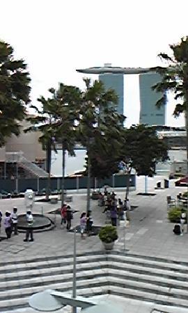 Regent Singapore, A Four Seasons Hotel: ミニマーラインだけは見れました(左下)