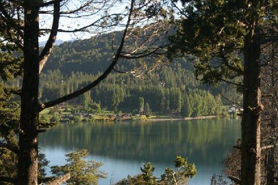 Cabanas Terrazas del Campanario: Cabaña con vista al lago