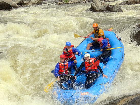 Dvorak Raft Kayak & Fishing Expeditions: Whitewater Colorado