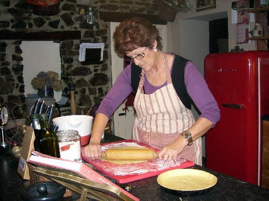 Sous Le Charme B&B: Pâtisseries faites maison