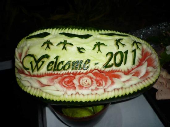 Aureum Palace Spa & Resort: New Year Buffet 2