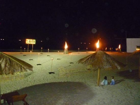 Aureum Palace Spa & Resort : New Year bonfire