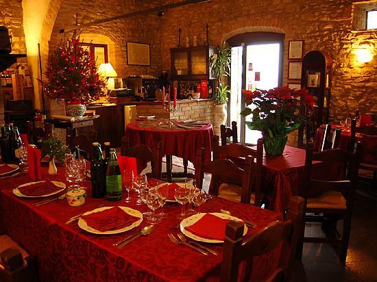 Agriturismo il Geranio : Particolare interno ristorante