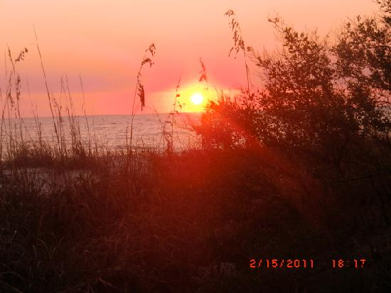 Sarasota, FL: Sunset Over Lido Key