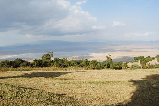 andBeyond Ngorongoro Crater Lodge: La vue de la terrasse
