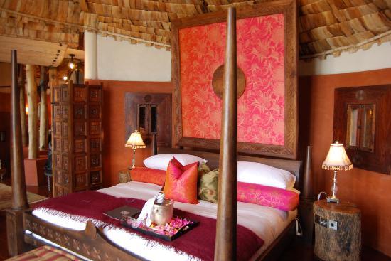andBeyond Ngorongoro Crater Lodge: La chambre