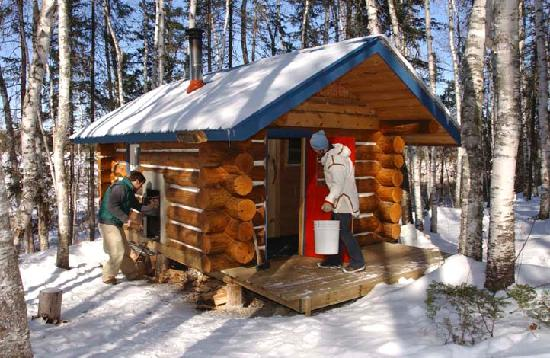 Log Cabin Hideaways: Sundew Sauna