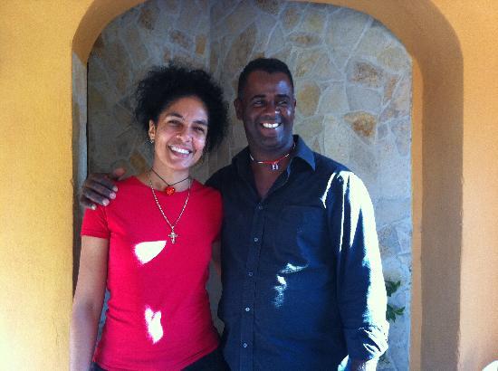 Hostal El Moro : Renier and Ana - our hosts
