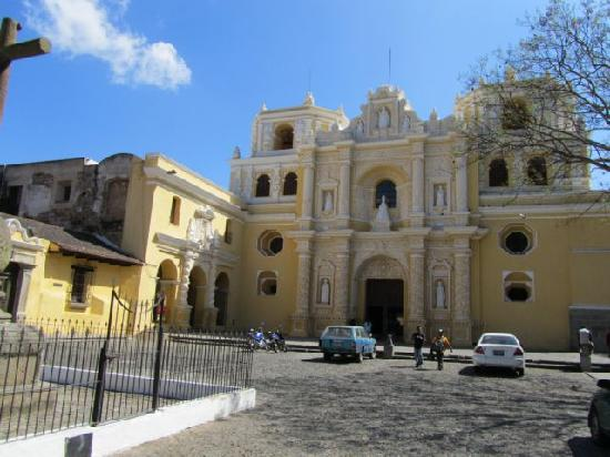 Antigua, Guatemala: Church La Merced
