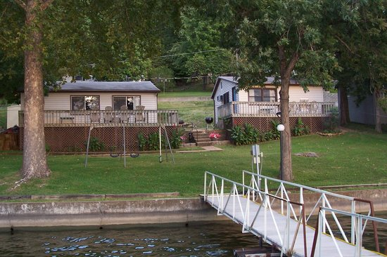 Camdenton, MO: Cabins on the lake