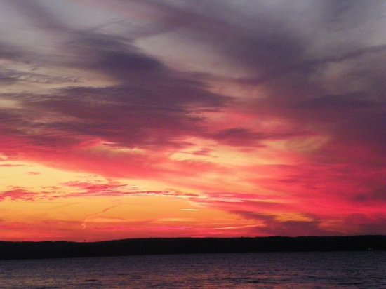 Fort Gaines, GA: One of the fantastic sunsets
