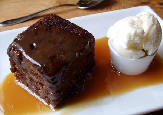 The Mains of Scotstown Inn: Sticky Toffee Pudding