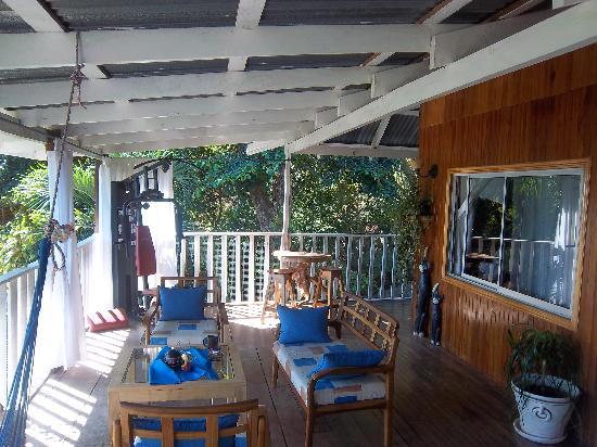 Hotel Lucy: the veranda