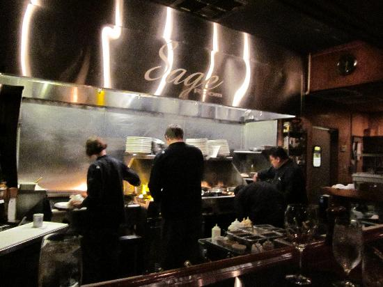 The Kitchen Picture Of Sage Room Restaurant Bar