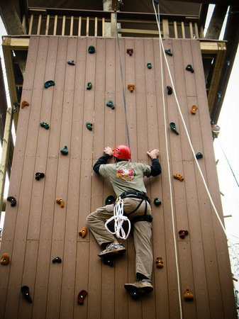 Savage, แมรี่แลนด์: Terrapin Adventures Climbing Tower