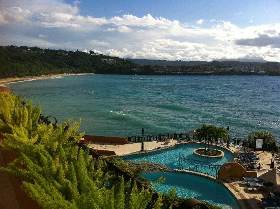 Sosua Bay Resort: This is the view everyday!