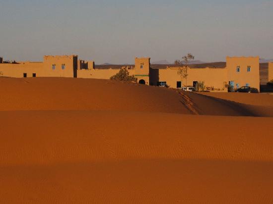 Kasbah Erg Chebbi : Sand Castle in the desert