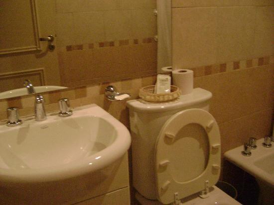 Exclusive Apart Hotel Mendoza: toilete