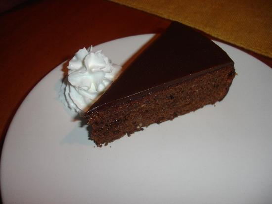 Danube's homemade sachertorte