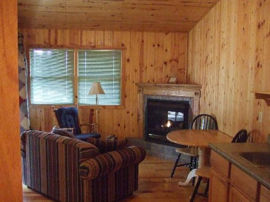 Hill City, SD: Birch Cabin - Pine Rest Cabins near Mt.Rushmore, Crazy Horse, Custer State Park