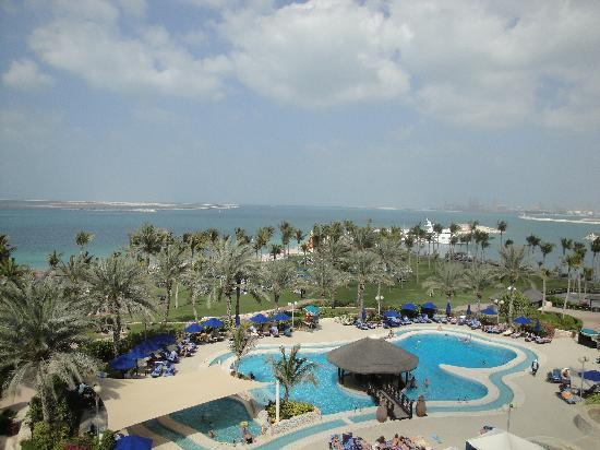 JA Jebel Ali Beach Hotel: The view from my SV room