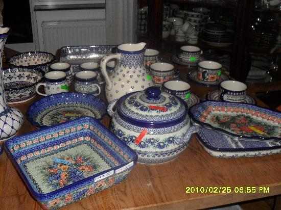 The Blue Beetroot Hotel : Wonderful Polish Pottery