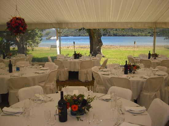 Marlborough Region, Nieuw-Zeeland: Weddings at Furneaux Lodge