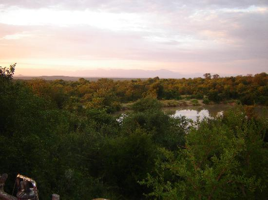 Makalali Private Game Reserve, Sydafrika: View from the sleepout deck
