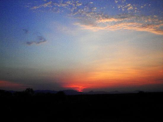 Makalali Private Game Reserve, Sydafrika: Sunset