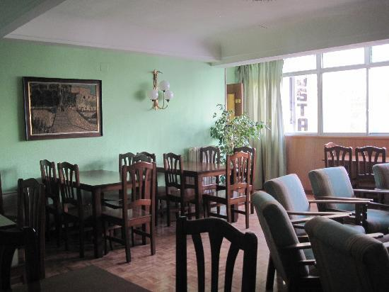 Hostal Avenida : Sala - Breakfast Room