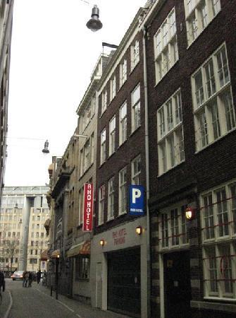 Habitaci n picture of rho hotel amsterdam tripadvisor for Hotel doria amsterdam