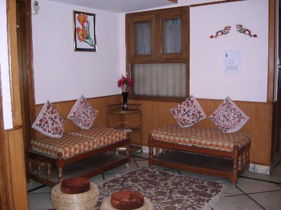 Sargam Residency: Living Area