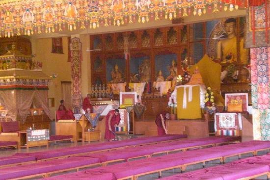 Dharamsala, India: residenza del Karmapa