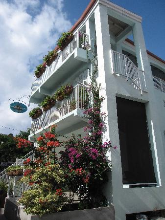 Cruz Bay Boutique Hotel: Front View