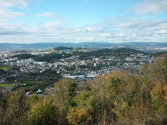 Do Elevador : Blick über die Stadt Braga
