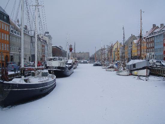 Copenhagen, Denmark: Frozen solid