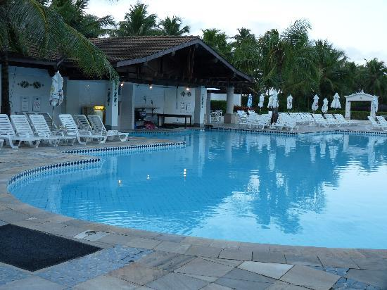 Sauipe Resorts: la piscine principale et son bar