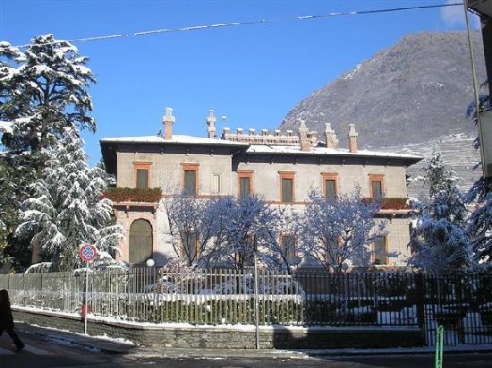 Sondrio, Italie : villa Quadrio