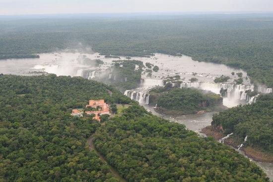 Foz do Iguacu, PR: watervallen vanuit de helicopter