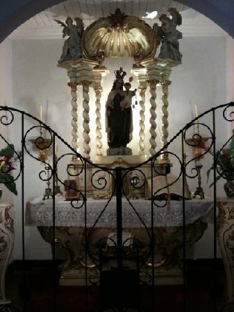 Museo de Juan Zorrilla de San Ma : chapel