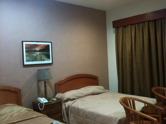 Hotel Impian Morib: double & single bed