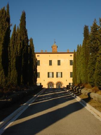 Акуавива-ди-Монтепульчано, Италия: relais Villa Grazianella -Viale Principale d'ingresso