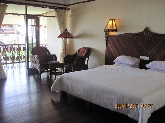 Amazing Ngapali Resort : interno camera standard