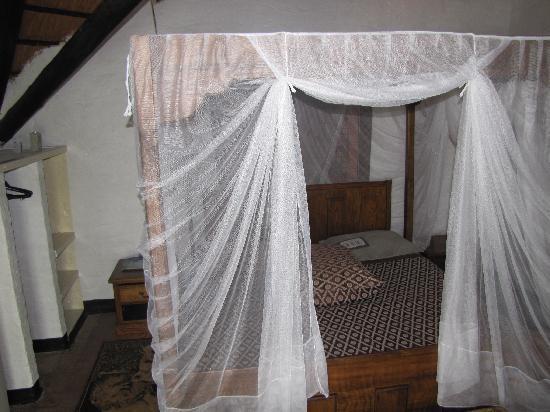 Gache Gache Lodge: Bett der Lodge Nr. 2
