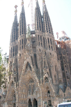 Province of Barcelona, Spain: La Sagrada Famiglia